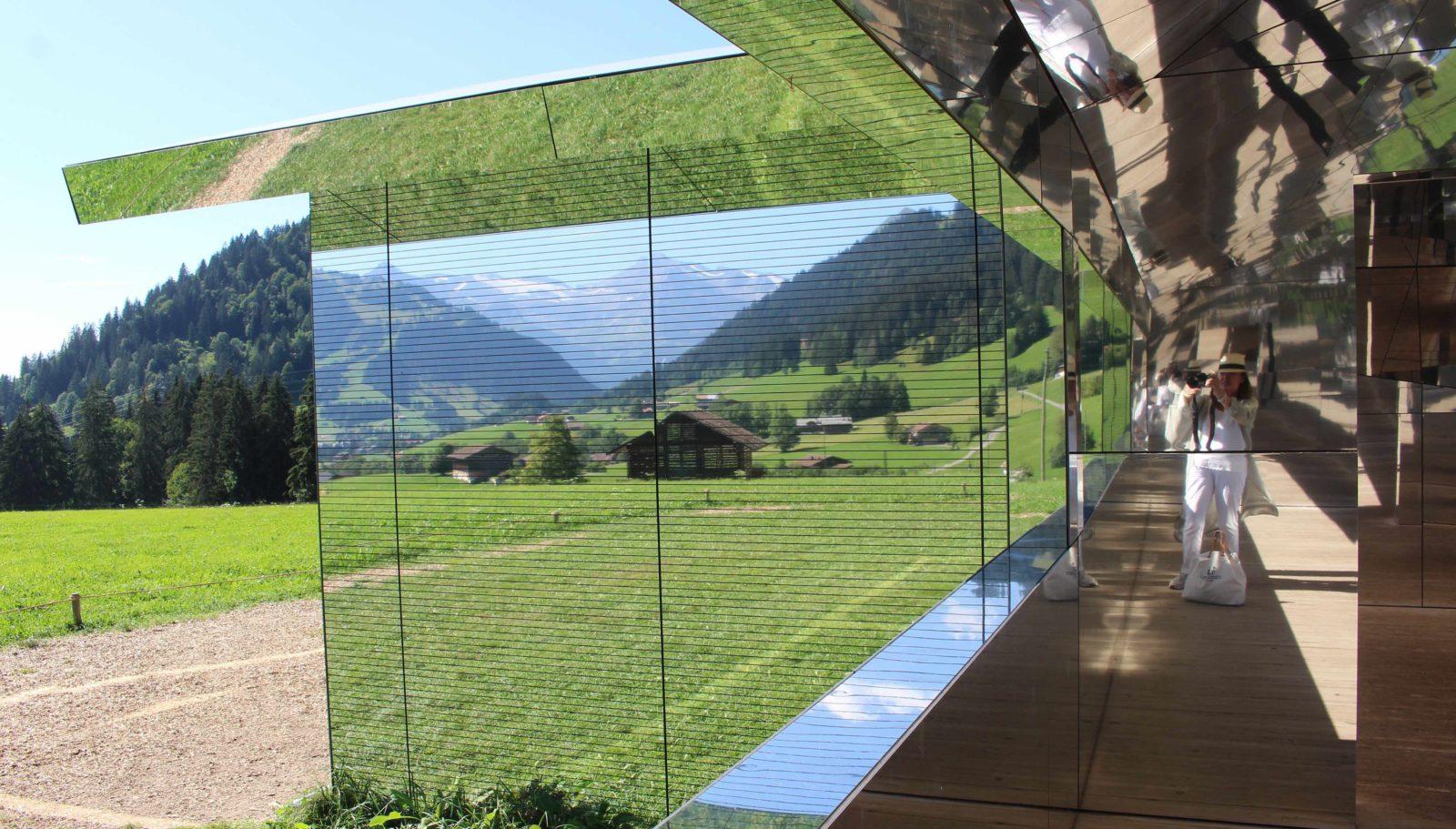 Mirage Gstaad - vue de côté