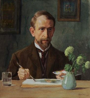 Schicksalsträume und Gesichte: Selbstbildnis Ernst Kreidolf