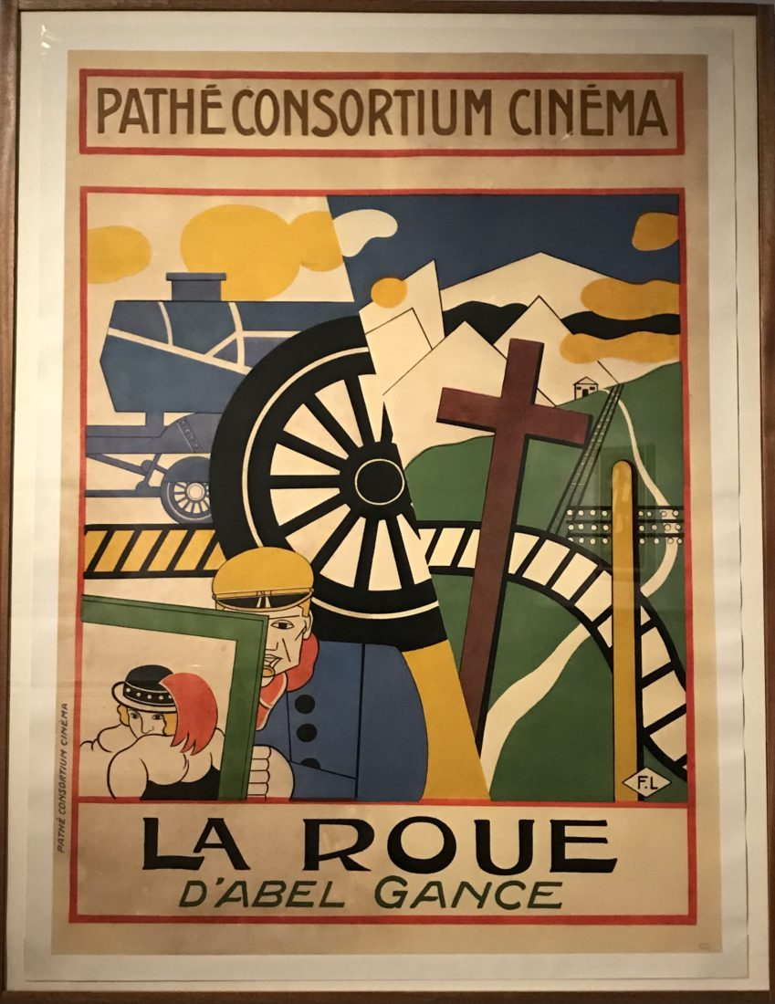 Fernand Léger. La Roue (Abel Gance