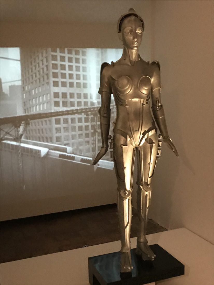robot pour Metropolis Fritz Lang