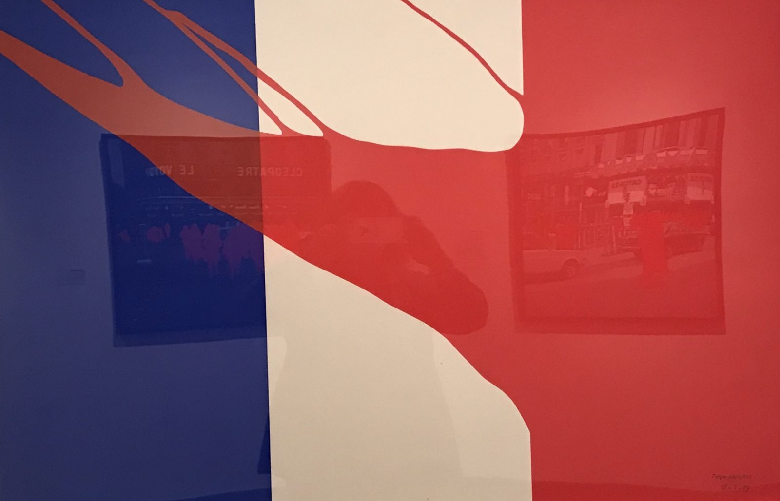 Gérard Fromager  le drapeau français