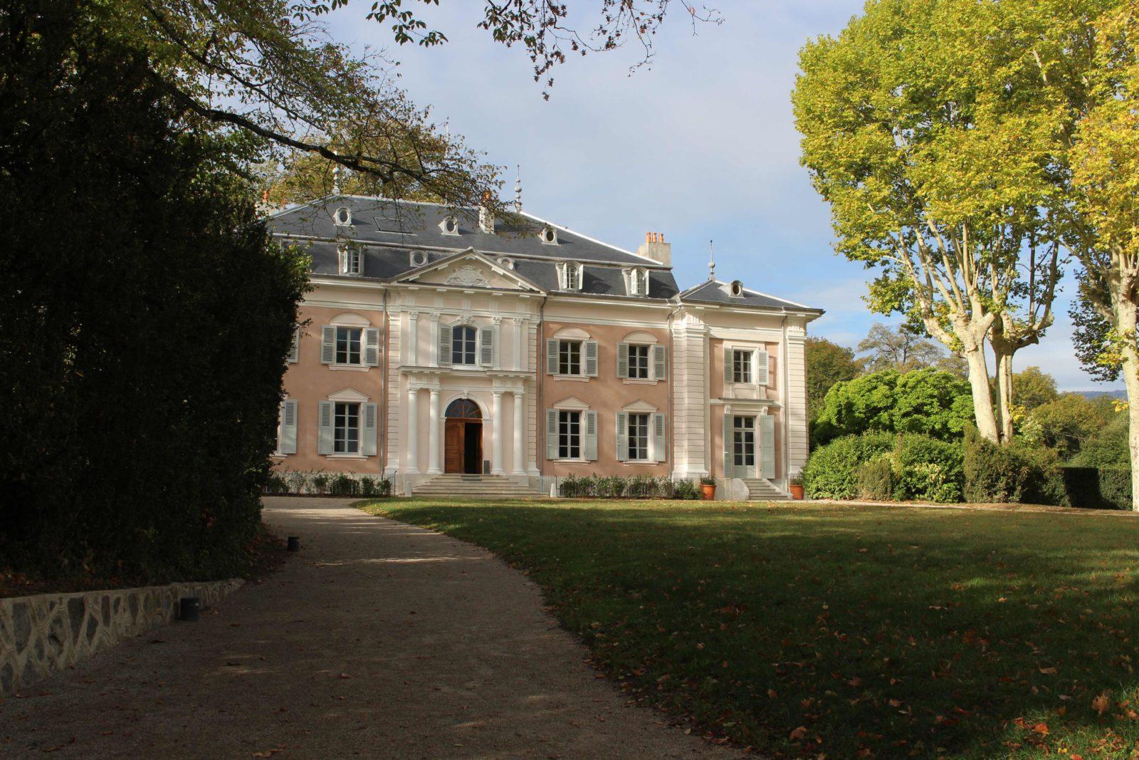 façade du château de Ferney-Voltaire
