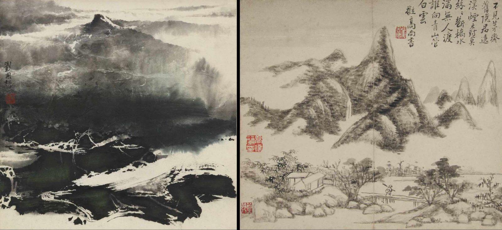 Liu Guosong (né 1932), Snow, daté 1967