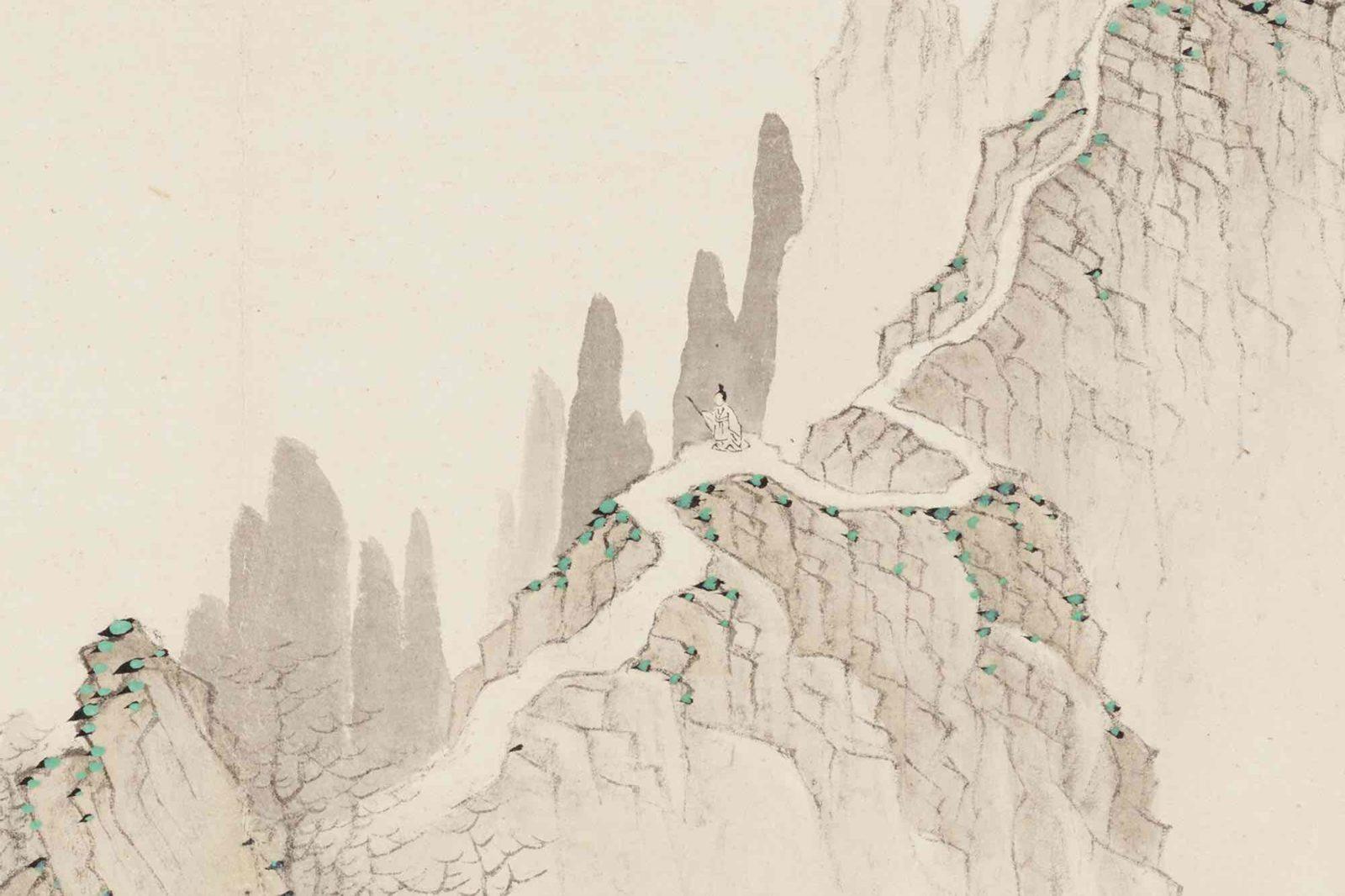 Mei Qing (1624–1697), Vues célèbres de Xuancheng