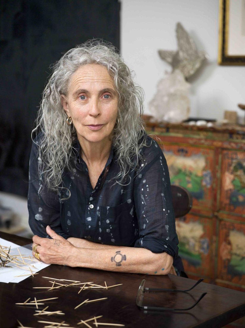 Kiki Smith dans son studio