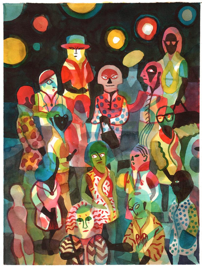 """Brecht Evens, """"Les Rigoles"""","""