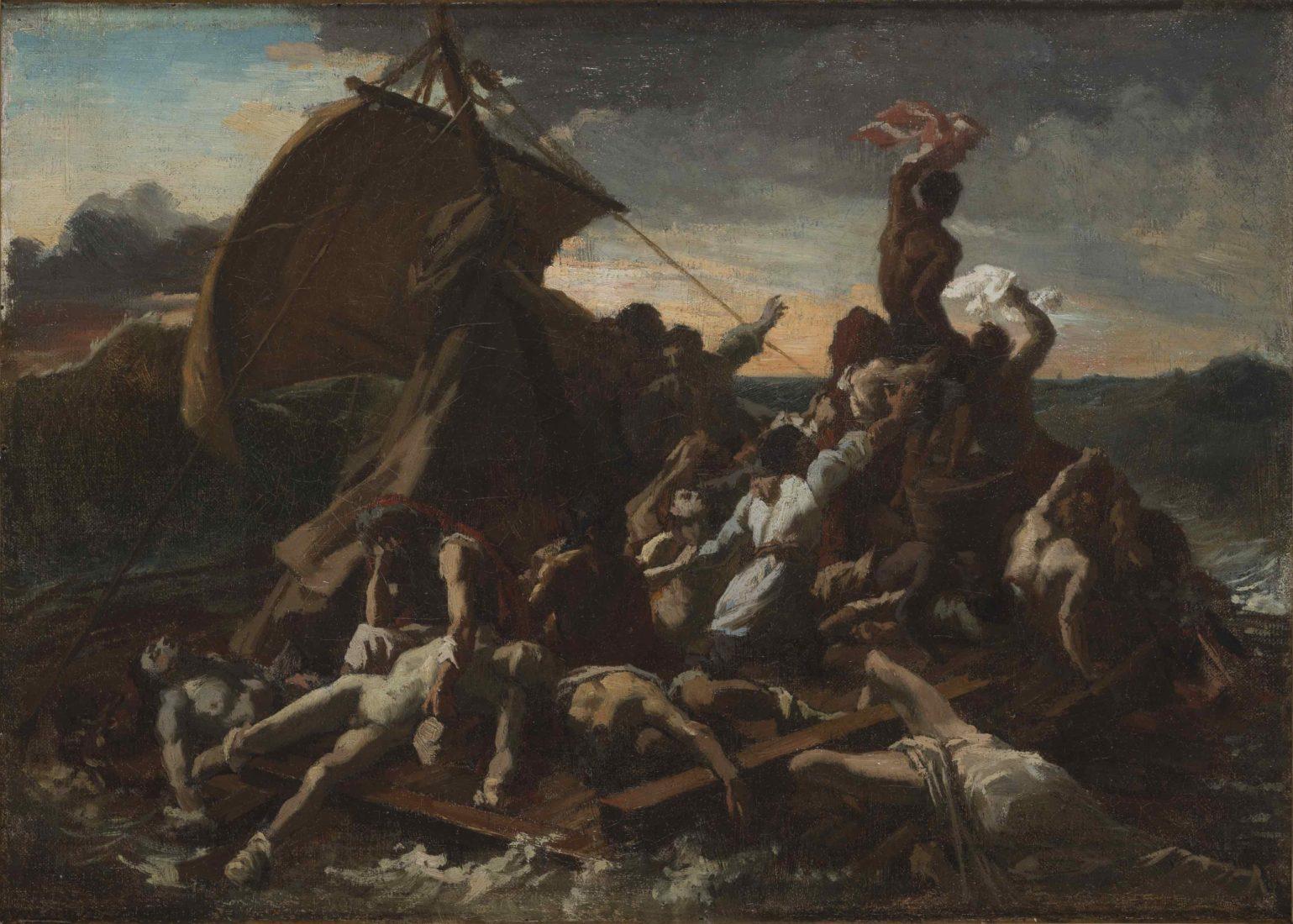 Théodore Géricault, (1791-1824), Le Radeau de la Méduse