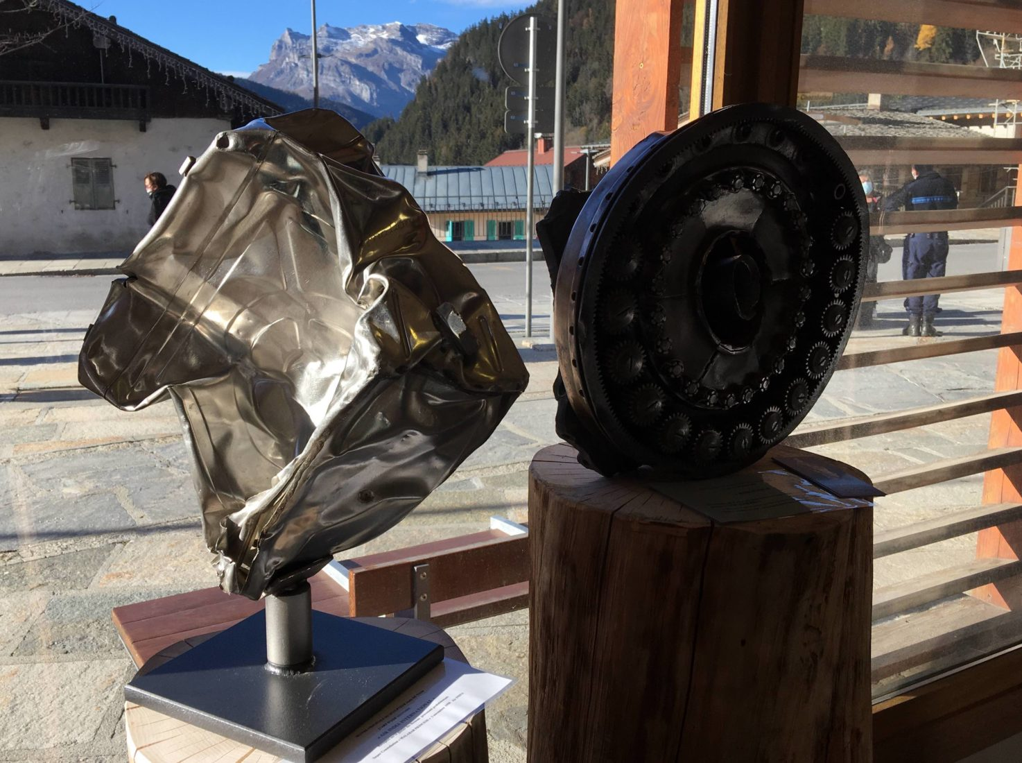 Sculptures de Josée de Vérité  L'art d'une histoire Les Houches