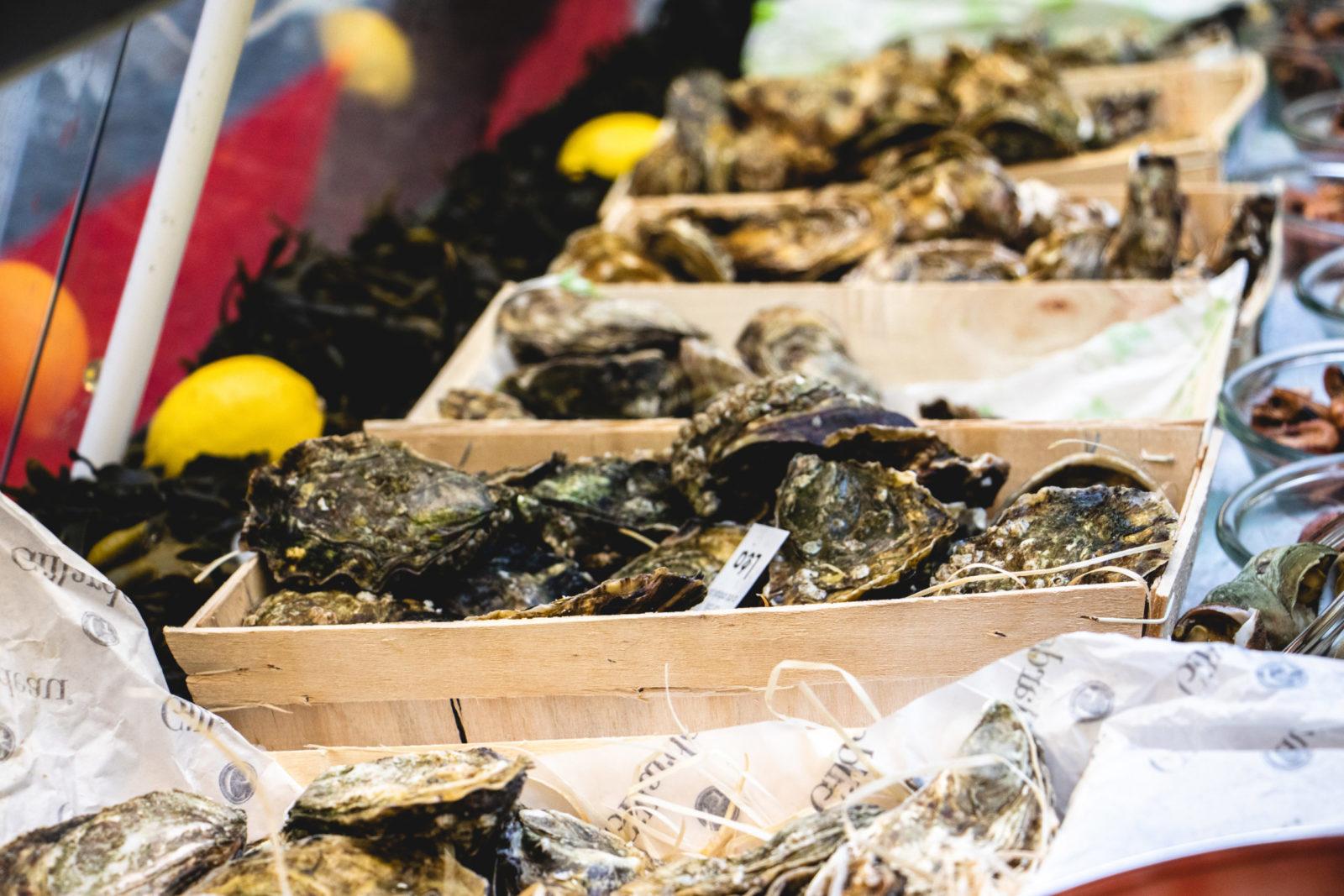 Bô Noël Lausanne 2020, huîtres