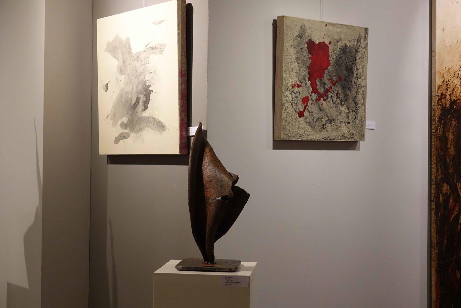 Peintures-sculpture Jef Gianadda