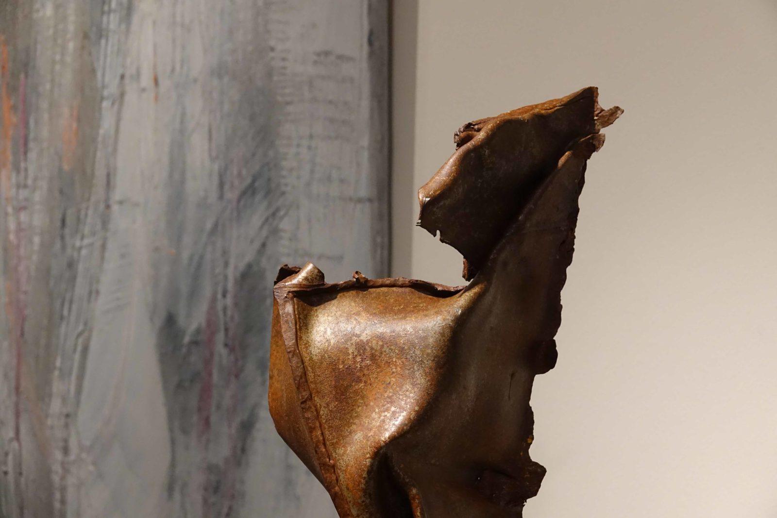 Sculpture Jef Gianadda espace Murandaz Nyon