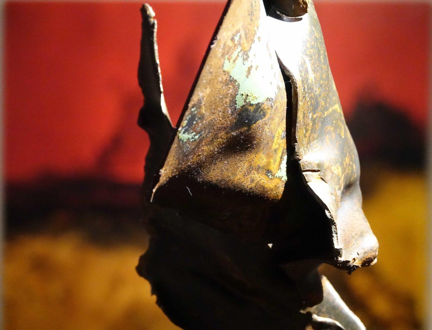 gros plan Sculpture Jef Gianadda  Nyon