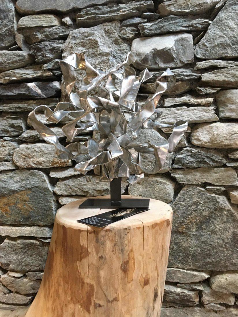 Sculpture de Josée de Vérité  L'art d'une histoire Les Houches