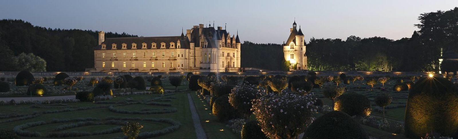 Vue du Château de Chenonceau