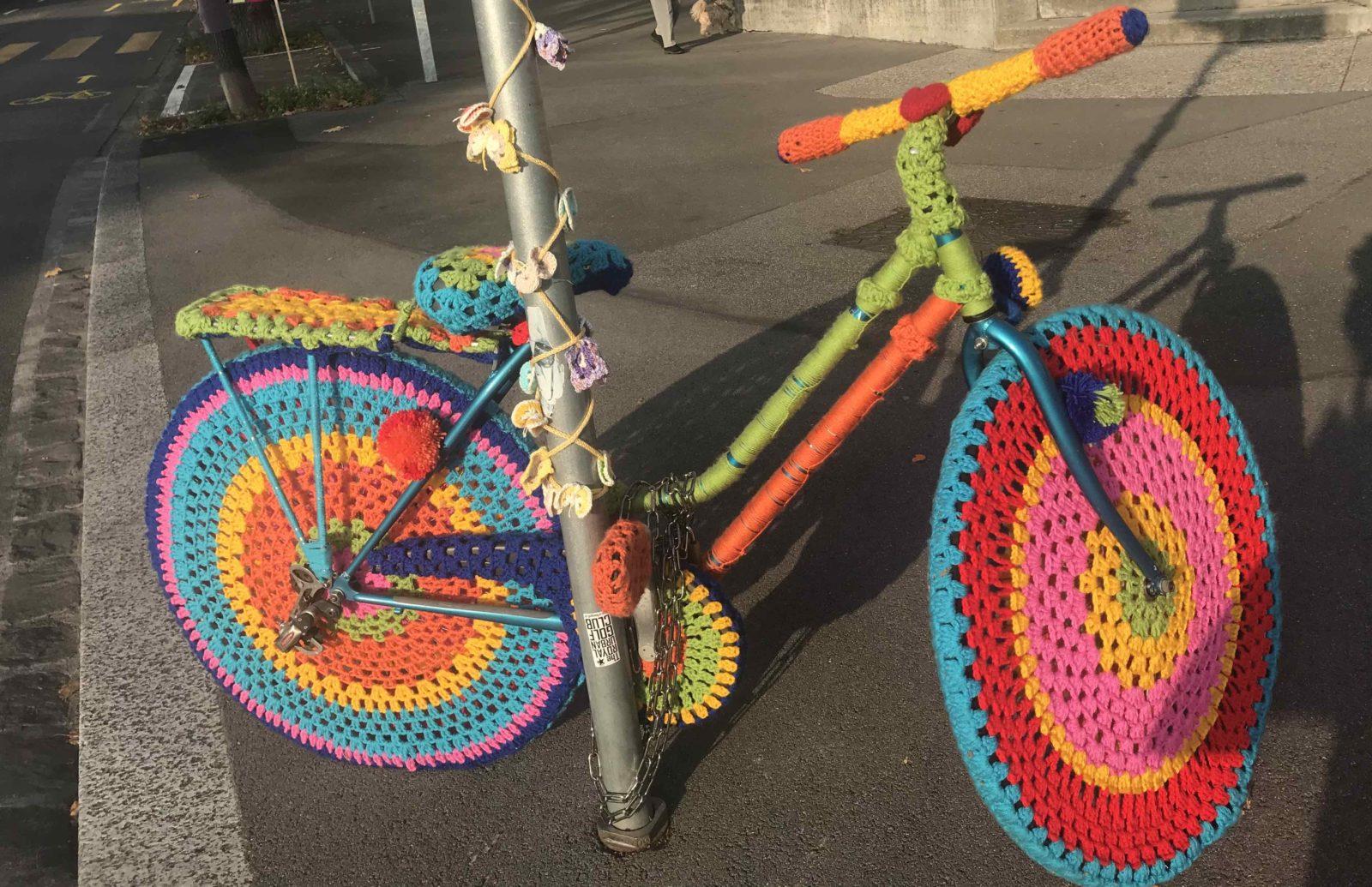 Tricot graffiti vélo