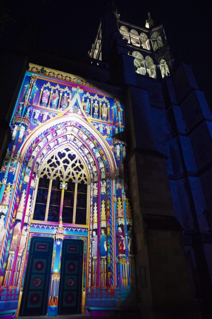 Festival Lausanne Lumières 2020 Cathédrale