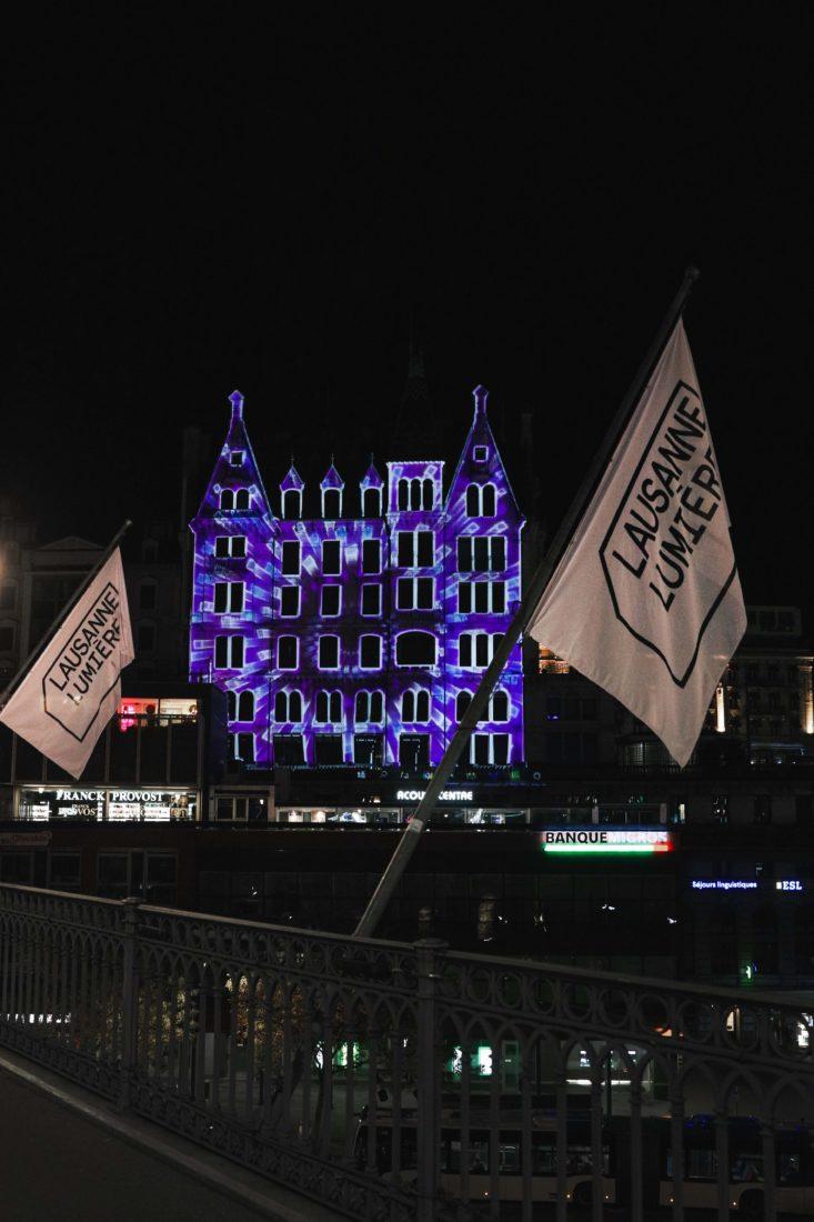 Festival Lausanne Lumières 2020 maison Mercier