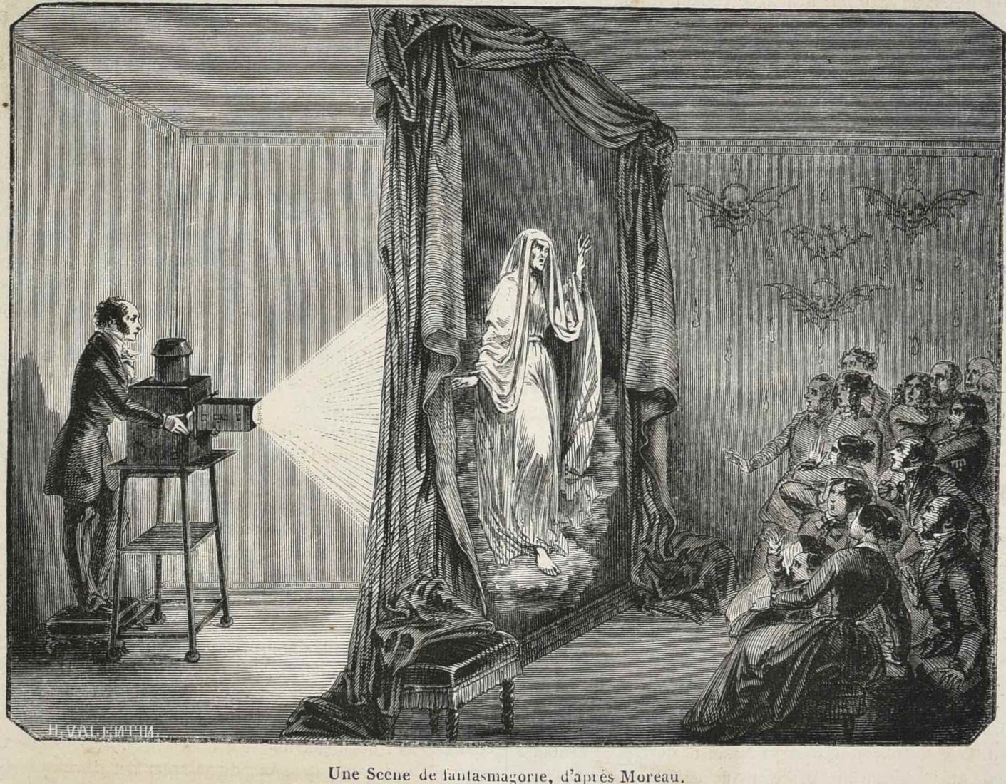 La Fantasmagorie. Le physicien Robertson