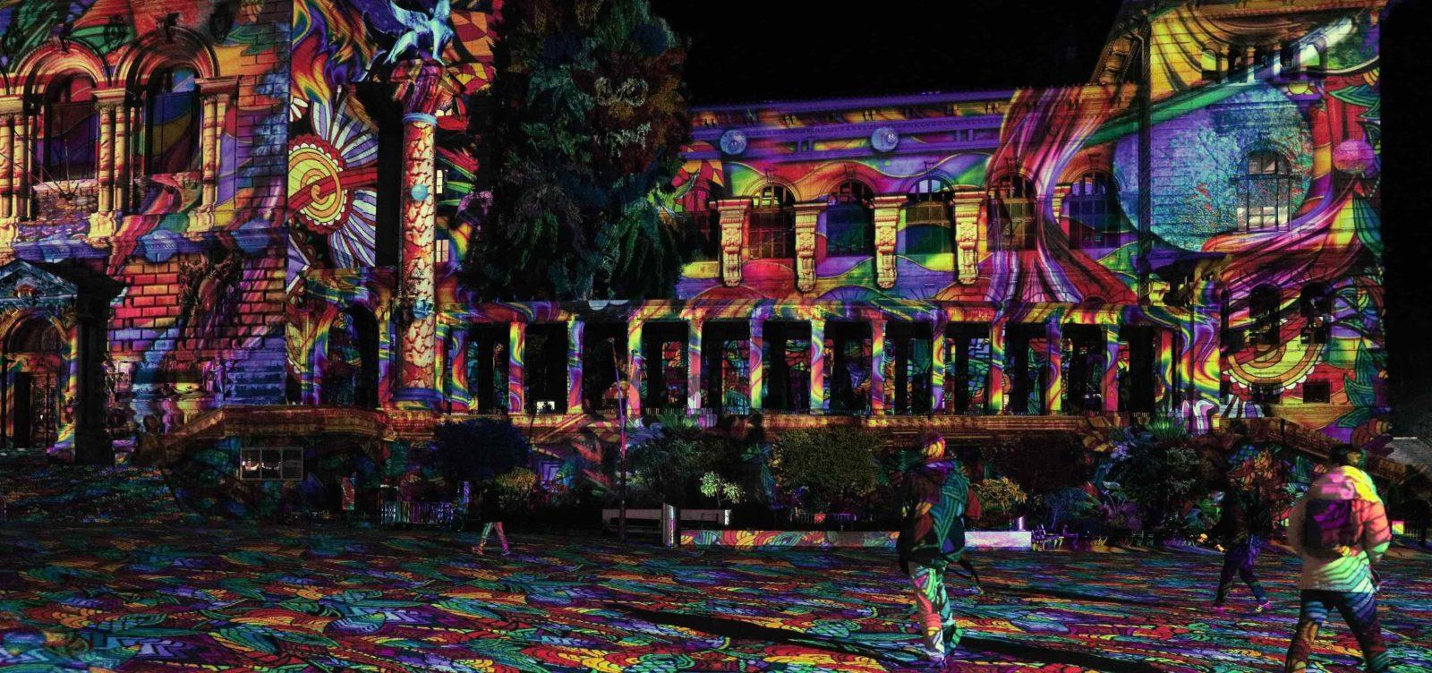 Festival Lausanne Lumières 2020 Riponne