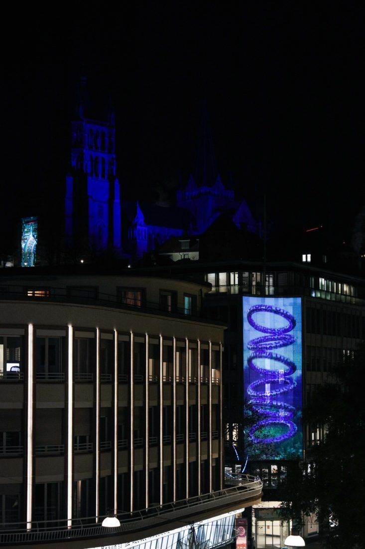 Festival Lausanne Lumières 2020 Flon