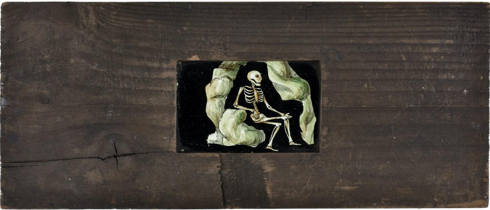 Plaques de fantasmagorie, vers 1800