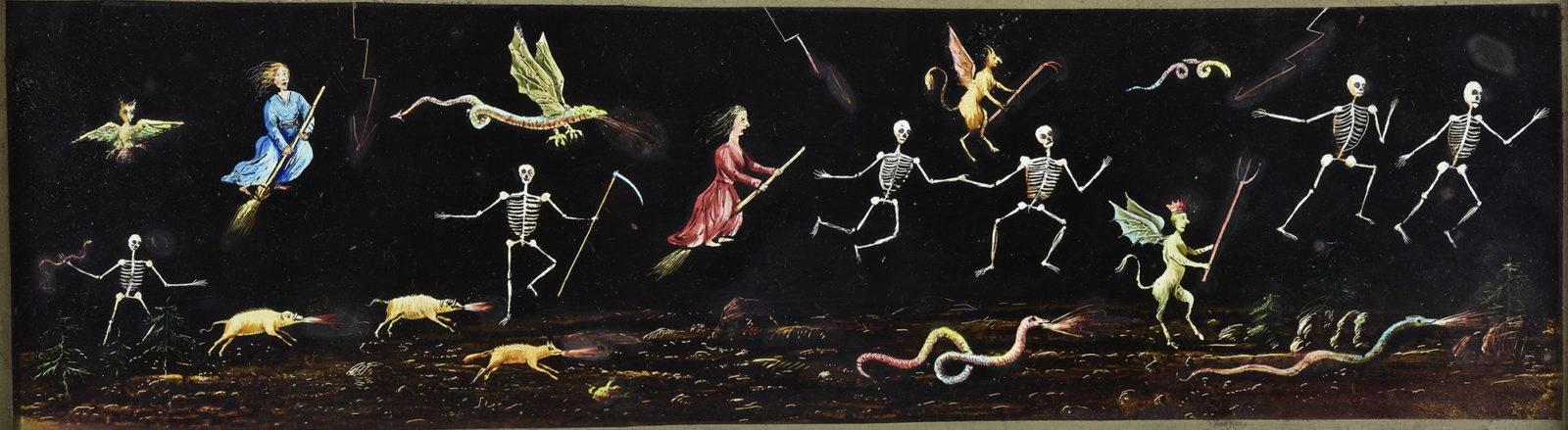 Squelettes, sorcières et monstres ailés- fantasmagorie