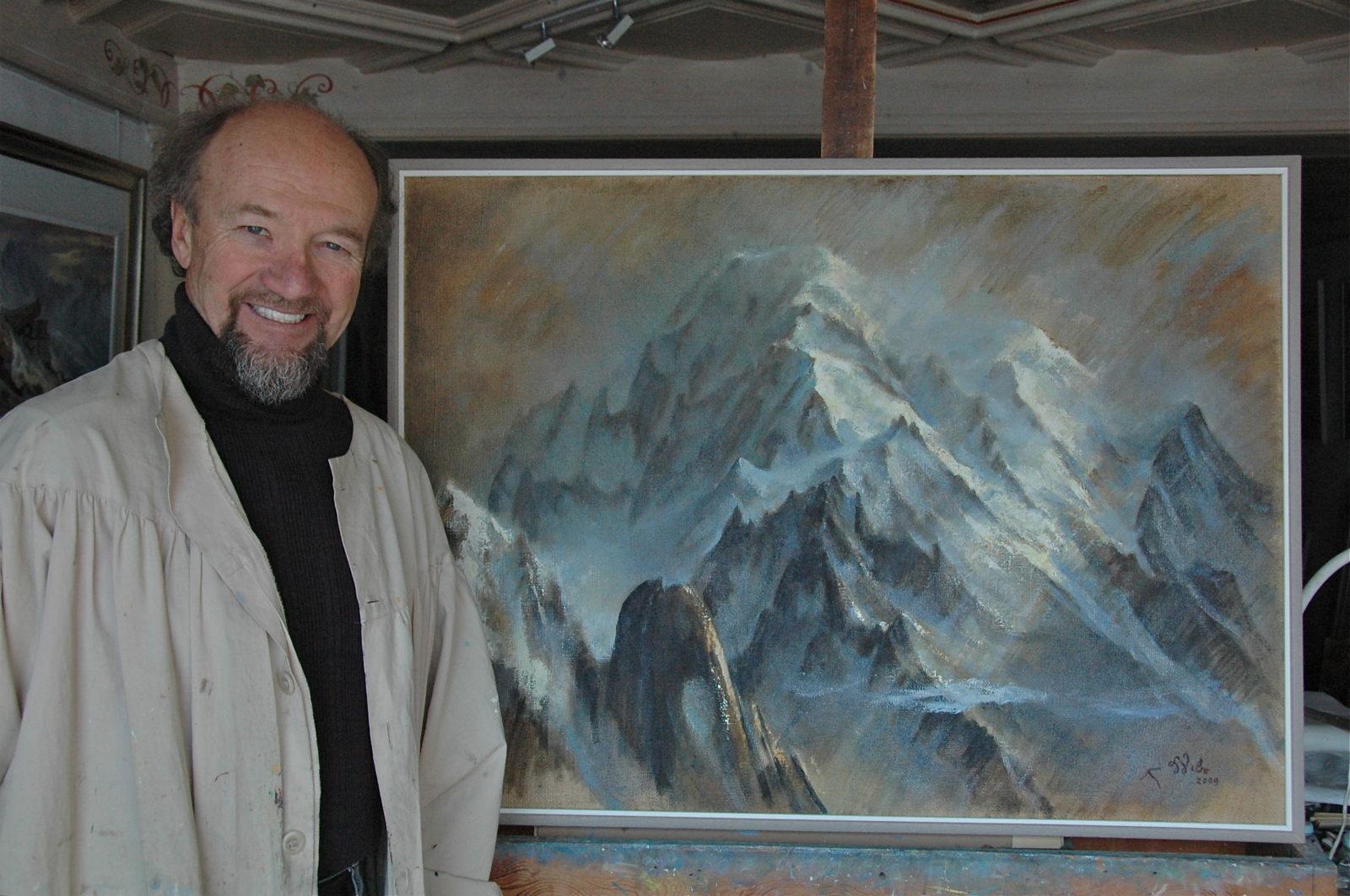 Lionel Wibault peintre
