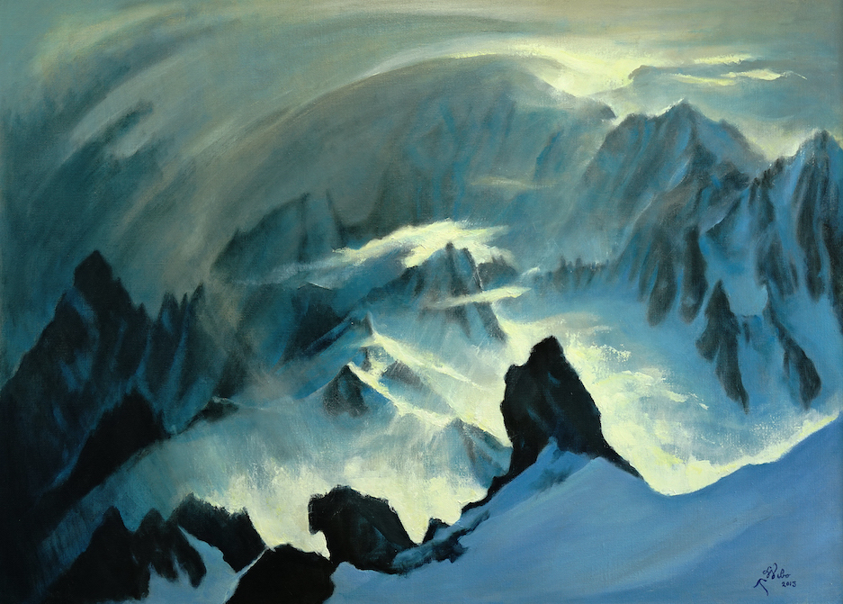 Lionel Wibault 100 Mont-Blanc 2