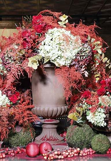 Composition florale printemps 2019 Château de Chenonceau