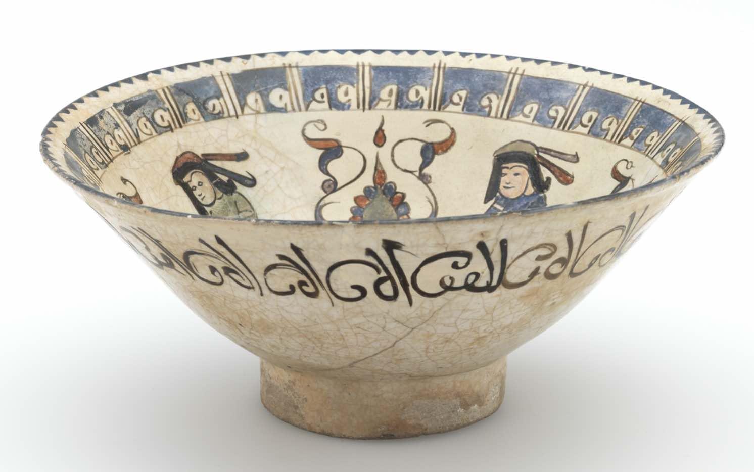 musée Ariana Genève  Coupe Iran, 1180-1199.