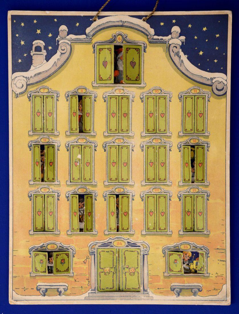 Château de Gruyères calendrier à volets
