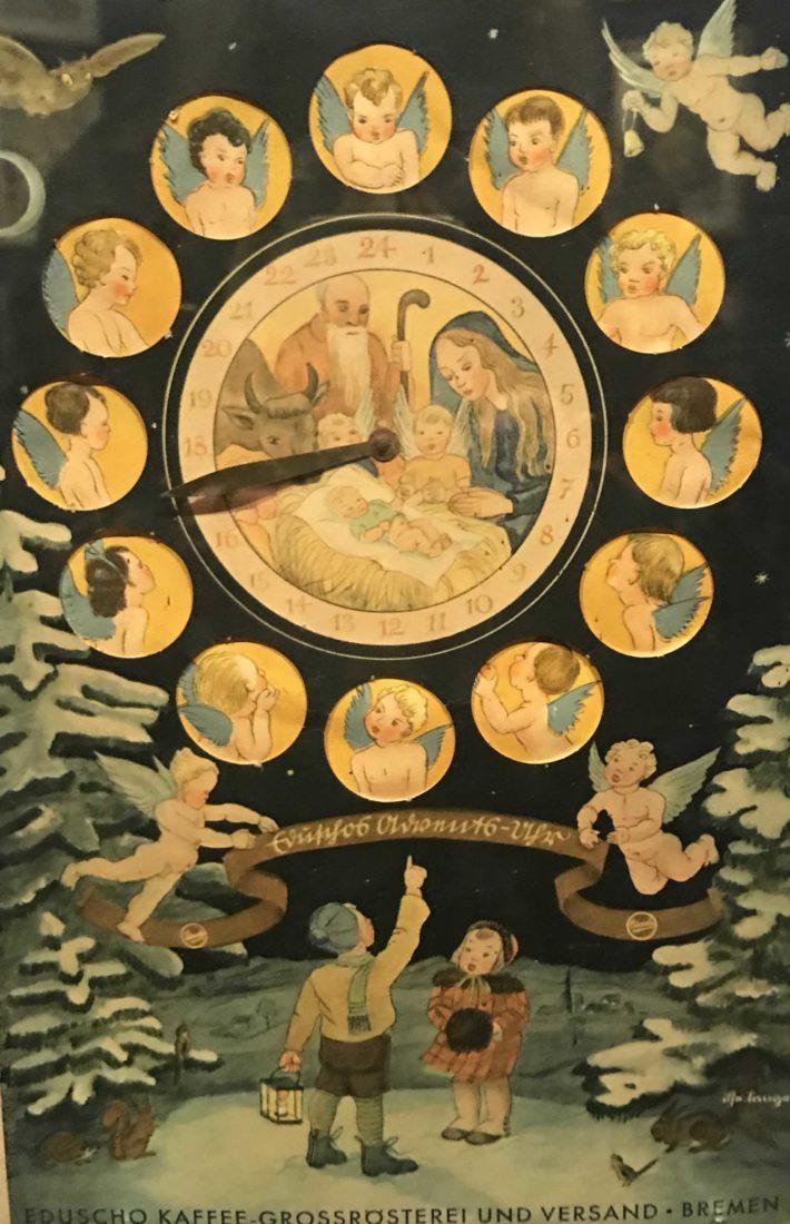 Château de Gruyères calendrier à cadran