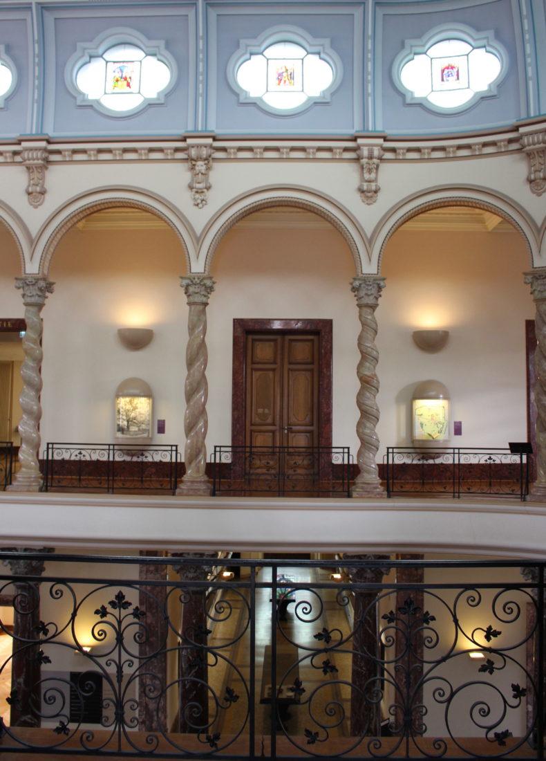 Musée Arianagenève - intérieur