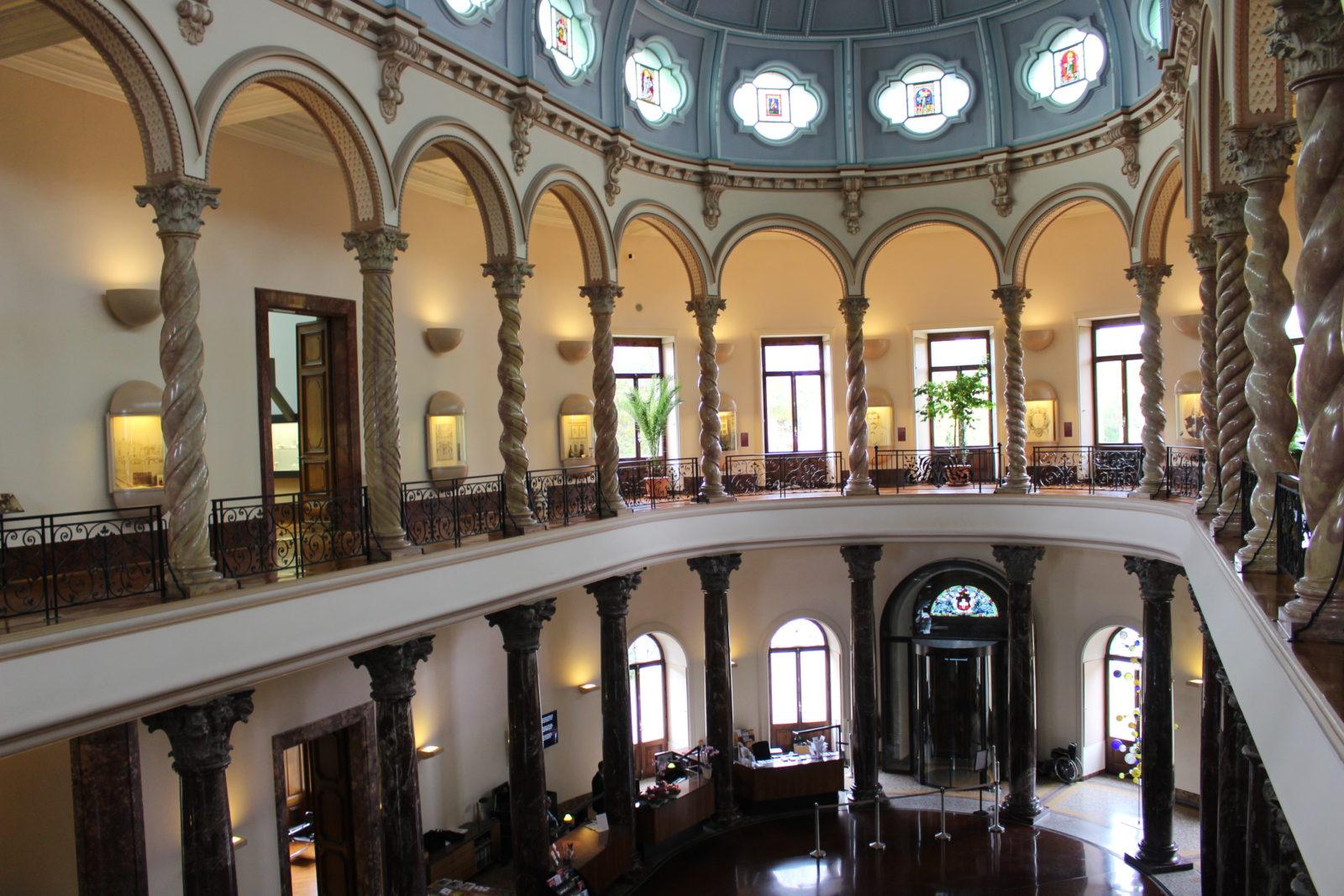 Musée Ariana intérieur
