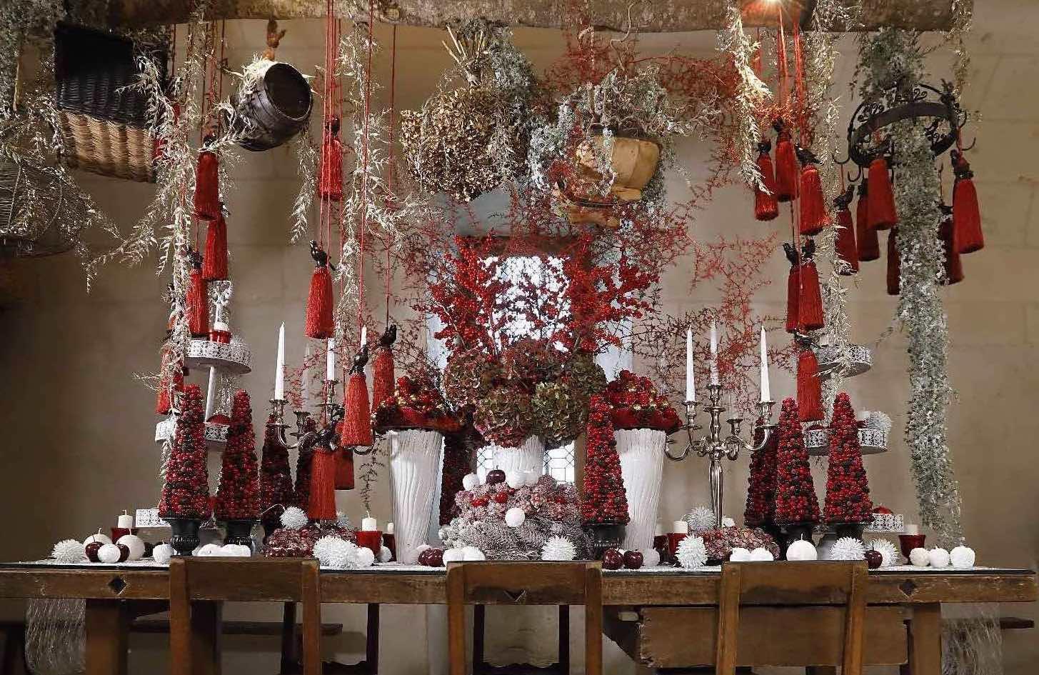 Château de Chenonceau Cuisine  Noël 2020-2021