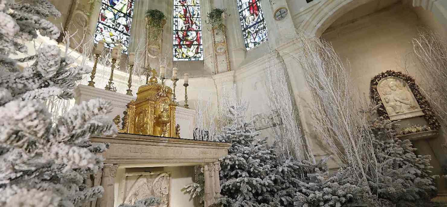 Chapelle du Château de Chenonceau Noël 2020-2021