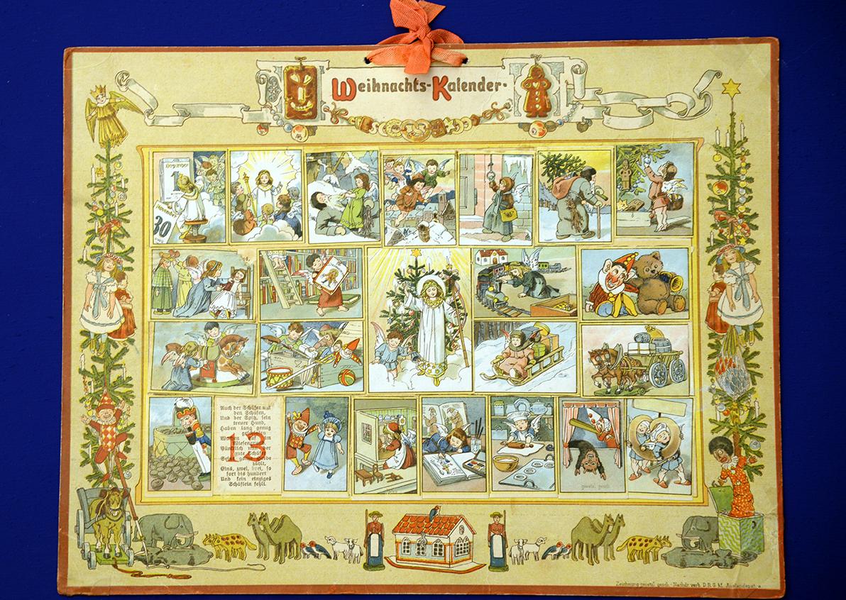 Château de Gruyères, calendrier Ernst Kepler