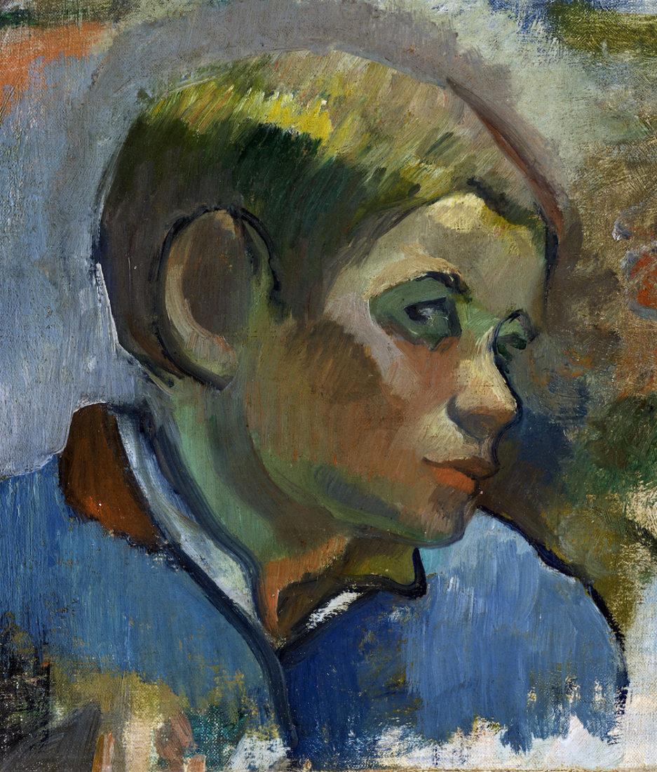 Paul Gauguin, Tête de jeune paysan
