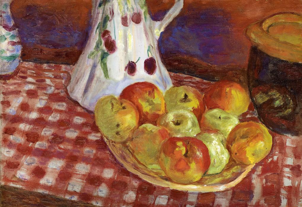 Pierre Bonnard, Les pommes jaunes et rouges,