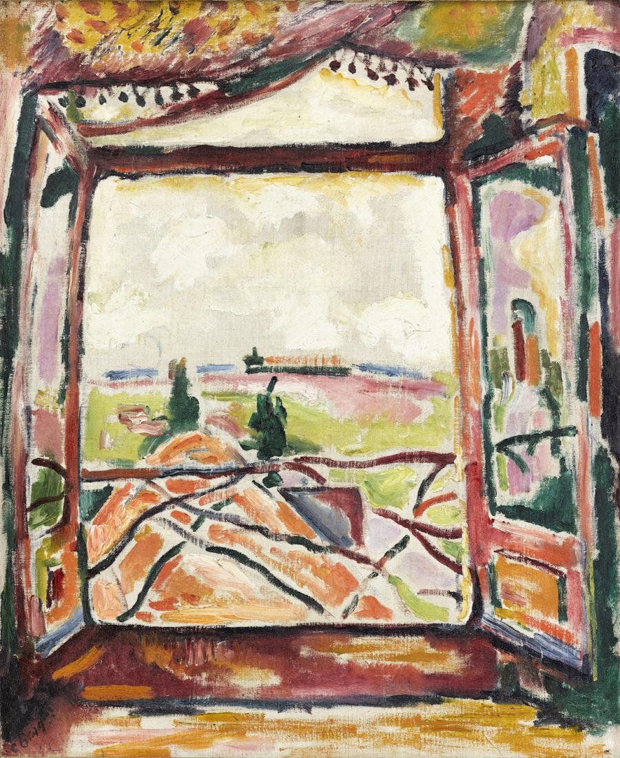 Georges Braque, Fenêtre sur l'Escault, 1