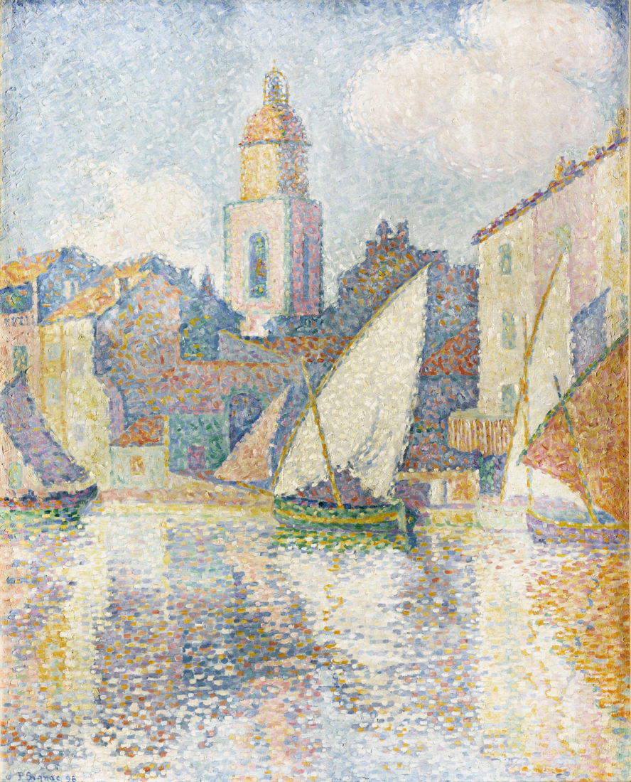 Paul Signac, Clocher de Saint-Tropez, 1896