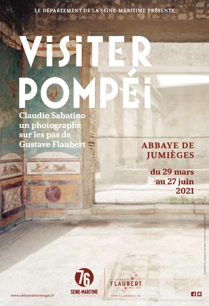 Affiche de «Visiter Pompéi»