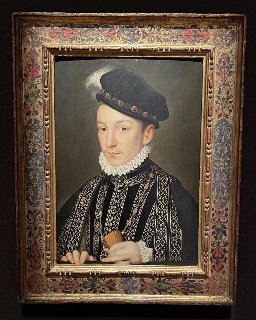 Portrait de Charles IX, par François Clouet.