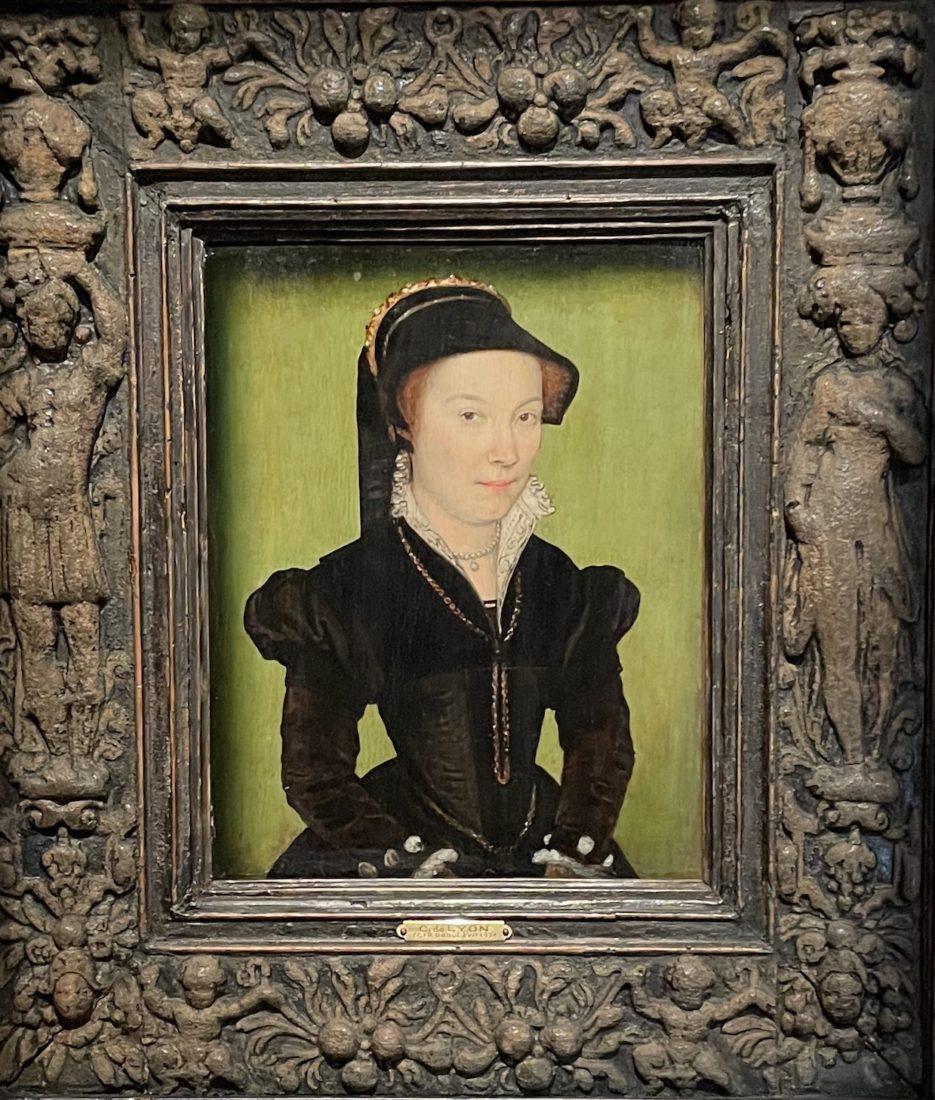 Corneille de Lyon. Portrait de dame,