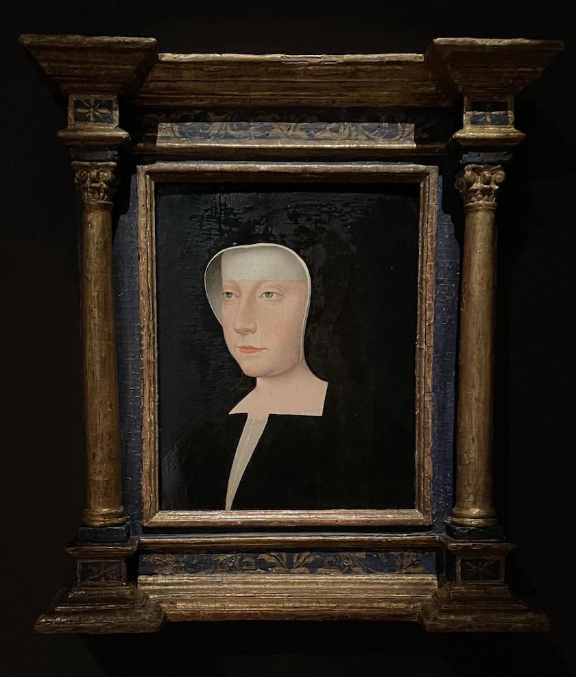 Portrait de Louise de Savoie, mère de François Ier. D'après Jean Clouet.