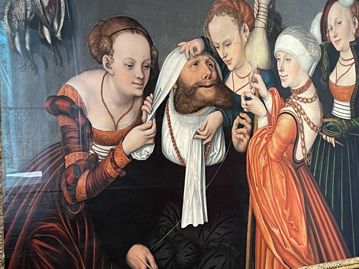 Lucas Cranach l'Ancien., Hercule chez Omphale