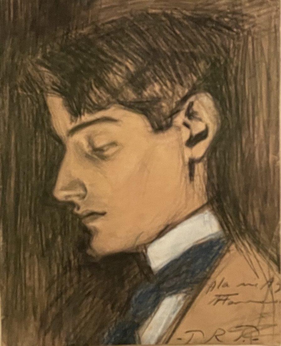 Pablo Picasso, Portrait d'Angel Fernandez del Soto,