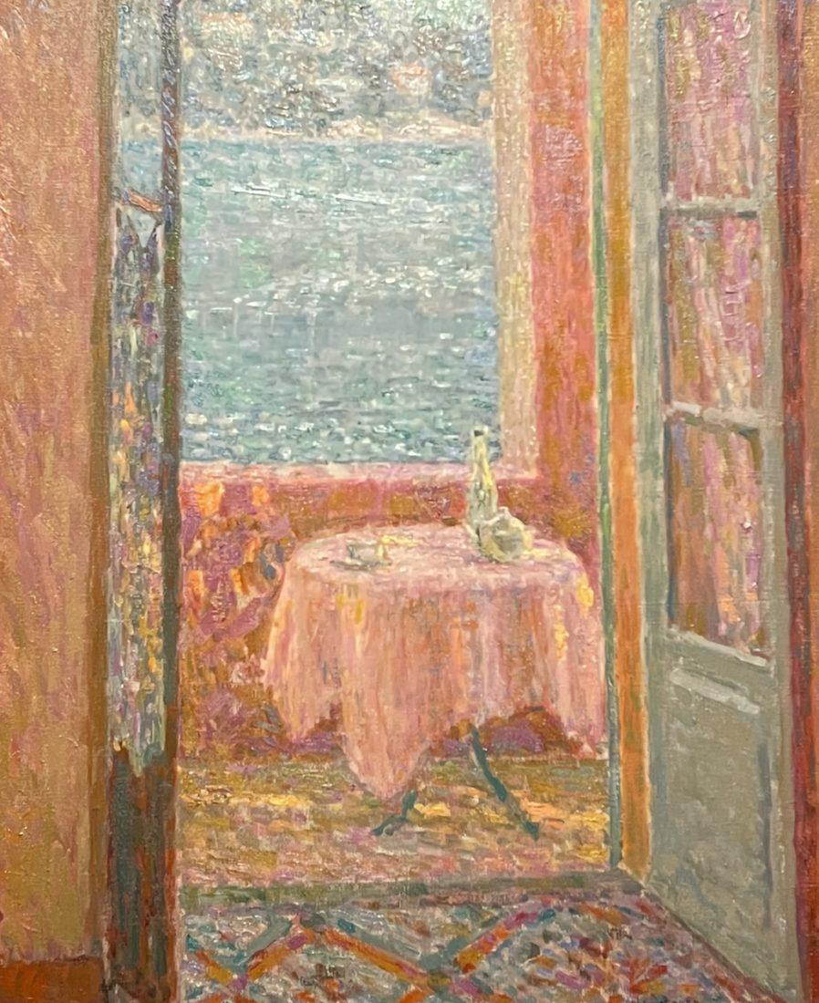 Henri Le Sidaner, La Table de la mer, Villefranche-sur-Mer,
