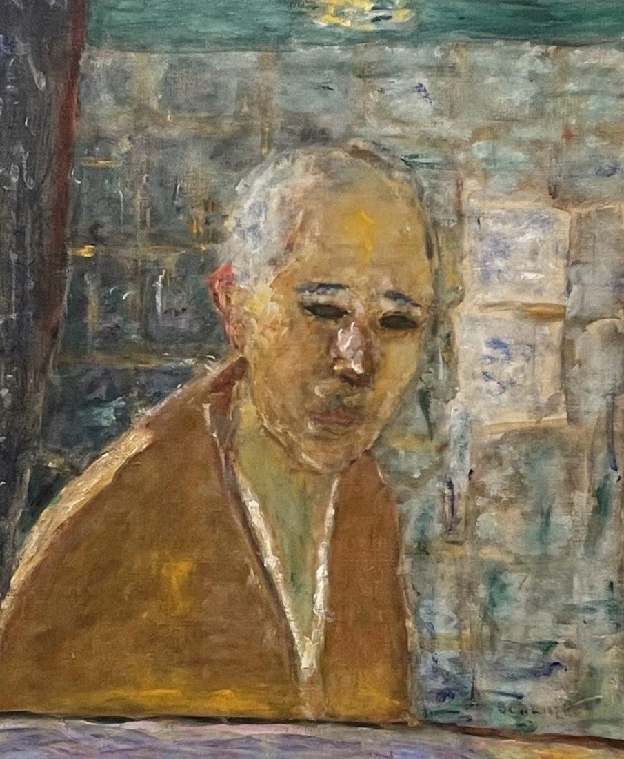 Pierre Bonnard, Autoportrait, 1945.