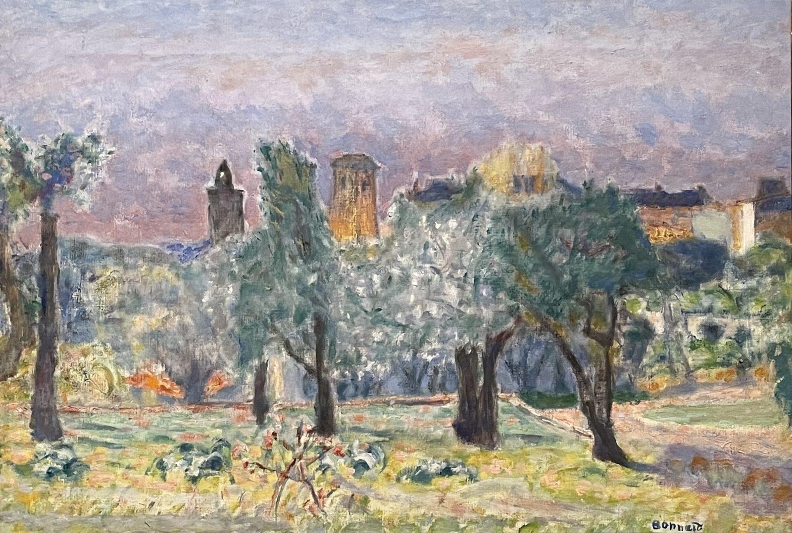 Pierre Bonnard, Paysage du Cannet